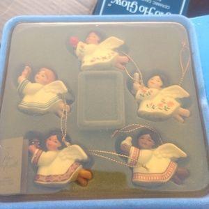 Set of 5 Avon angels